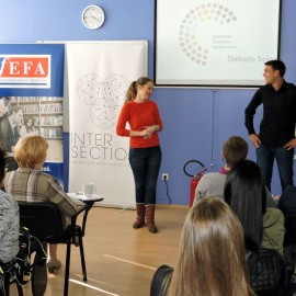 "Project ""European Student Parliament"" presented during Parliamentary Week"