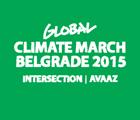 Climate march Belgrade 2015