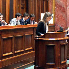 Three exciting days of European Student Parliament 2016 in Belgrade!
