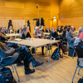 Lecture on Gender and Research at the Chalmers University of Technology